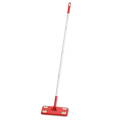 TreeLen Floor Mop and Clean Kit,Dry Sweeper, All Purpose Floor Cleaning Set, Includes: 1 Mop, 5 Dry Pads,5 Thick Dry Sweeping Cloths