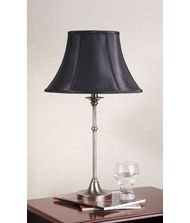 Laura Ashley BTB007 Morgan Table Lamp, Antique Pewter