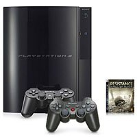 Sony PS3SUPERBUND PS3 60 GB Gaming System w/Game & 2 - Gig Ps3 60