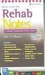 Rehab Notes (Davis Notes) [Spiral-bound]