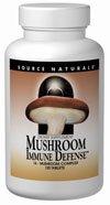 Défense immunitaire champignons Source Naturals, 60 comprimés