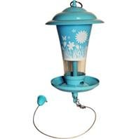DPD FLORAL DECORATIVE MIXED SEED FEEDER - Color BLUE by DPD