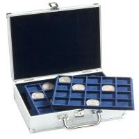 - LEUCHTTURM1917 coin case for 120 10-Euro coins in capsules, incl. 6 coin trays