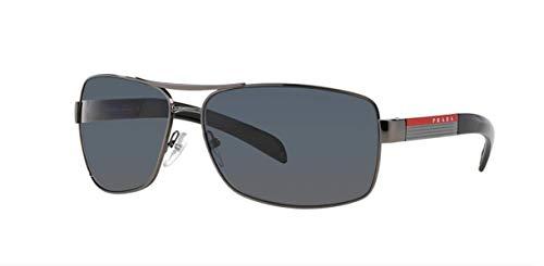 Prada Sport PS54IS Sunglasses-5AV/6S1 Gunmetal (Brown Gradient ()