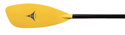 at Search Glass Straight Touring Kayak Paddle - 220cm, Yellow, One Size by Adventure Technology