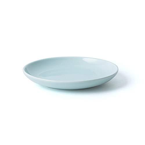 XQJDD Creative ceramics Western dish steak dish home shallow pasta dish hotel tableware 8 inch elegant Ya 20.2x2.7cm