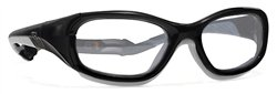 Power-Guard X-Ray Radiation Protection Glasses, 0.75mm Pb Equivalency Lens, Black/Gray by Colortrieve