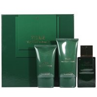 (TSAR by Van Cleef & Arpels Gift Set for MEN: EDT SPRAY 3.3 OZ & AFTERSHAVE BALM 3.4 OZ & ALL OVER BODY SHAMPOO 5)