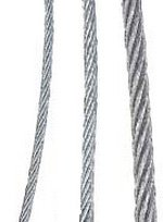 Tulsa Chain - Galvanized Cable - Aircraft Cable - 7x19, 3/8'', Length 500