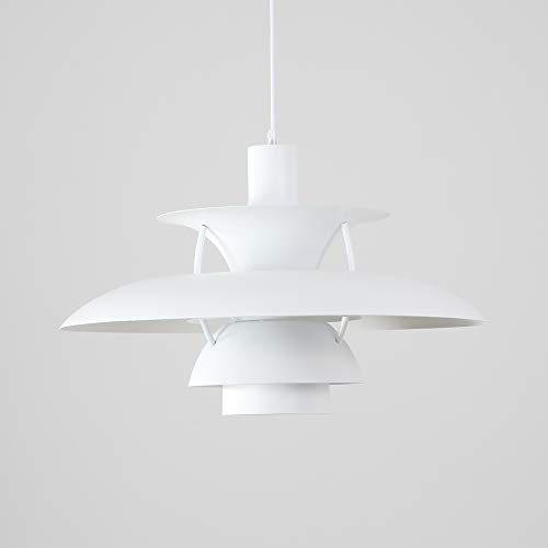 Samzim PH5 Pendant Light Replica, Denmark Design Hanging Light Fixture, Mid Century -