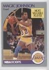 Magic Johnson (Basketball Card) 1990-91 NBA Hoops - [Base] #157