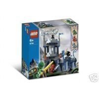 LEGO Knights Kingdom Knight's Castle Wall Set #8799 (Lego Knights Kingdom Santis)