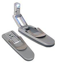 Robotic Led Book Light (VIBE LED Battery-Powered Robotic LED Clip-On Booklight)