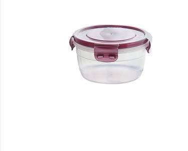 Fiambrera de plástico para microondas, con tapa sellada, 400 ...