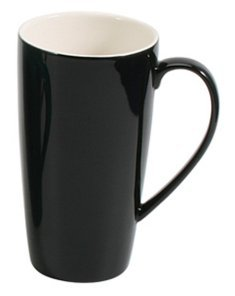 BIA Cordon Bleu 17 oz Latté Mug - Black - Set of - Safe Mug Dishwasher Bleu Cordon Bia