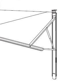 Dometic 8952002.400B Rv Awnings (Hardware,Power Std Polar Whtie)