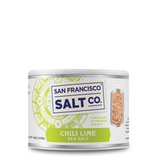 San Francisco Salt Co. Chili Lime Sea Salt 4 Oz. Pack of 2 by San Francisco Salt Company