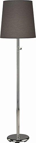 Robert Abbey One Light Floor Lamp 2080G - Robert Abbey Nickel Polished Floor Lamp