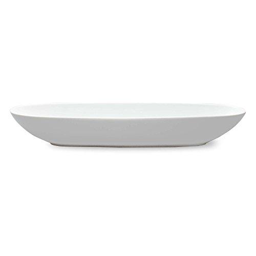 Tag Whiteware Porcelain Ceramic Gondola Bowl, Extra Large, 23-1/2-Inch Long, White (Dish Serving Oval Low)