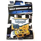 (NASCAR Authentics Dale Earnhardt Jr. #88 Diecast Car 1/64 Scale - 2018 Wave 7 with Free Magnet -)
