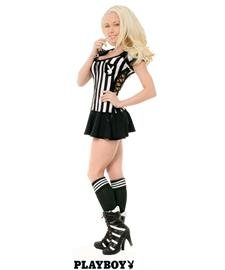 Racy Referee Adult Costume - (Playboy : Womens Shoes)