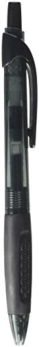 (Integra Ballpoint Pen, Retractable, Medium Point, Black Barrel/Ink)