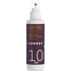 Korres Pflege Sonnenpflege Suntan Oil Walnut & Coconut LSF 10 150 ml