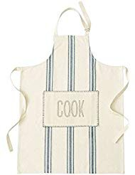 Mud Pie 4024002C Grain Sack Apron,