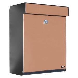 Qualarc ALX -GRM-BC Allux Series MailBoxes Grandform, Black/Copper by Qualarc
