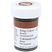 Bulk Buy: Wilton Icing Colors 1 Ounce Brown W610-507 (6-Pack)