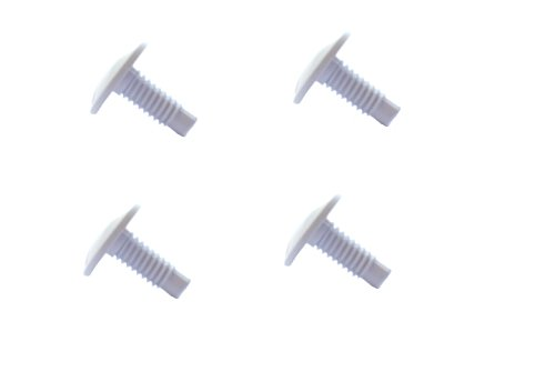 Southeastern 4 Pack Wheel Screw Pool Cleaner Replacement Part For Polaris 180 280 C55 C-55