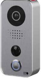 Price comparison product image DoorBird / DRB D101S / IP Video Door Station D101S,  Polycarbonate housing,  Strato-Silver Edition