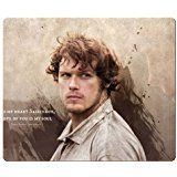26x21cm 10x8inch personal mousemat accurate cloth & antiskid rubber latest high technology Rectangle Mousepad Outlander wallpaper
