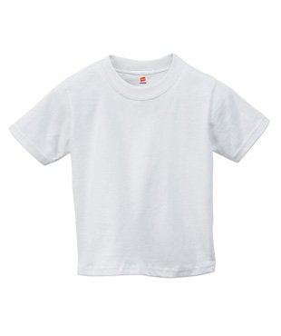 Hanes Comfort Soft Crewneck Toddler T-shirt White 4T