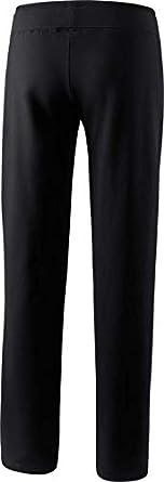 aus weichem Baumwollmaterial ERIMA Damen Basic Sweathose in Kurzgr/ö/ße mit breitem Bund mit Kordelzug