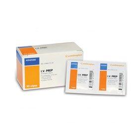 5459421200BX - IV Prep Antiseptic Wipes - 50 (Iv Prep Wipes)