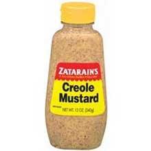 Zatarains 12 Ounce Creole Mustard, Squeeze Bottle - 12 per case.