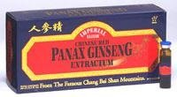 Alcohol Chinese Red Ginseng (Chinese Red Panax Ginseng Extractum - Vials Imperial Elixir (Ginseng Company) 10 Vial)