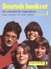 img - for Deutsch Konkret - Level 1: Course Book 1 (German Edition) book / textbook / text book