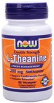 Now Foods, L-Théanine 200 mg, Veg Capsules, 60-Count-