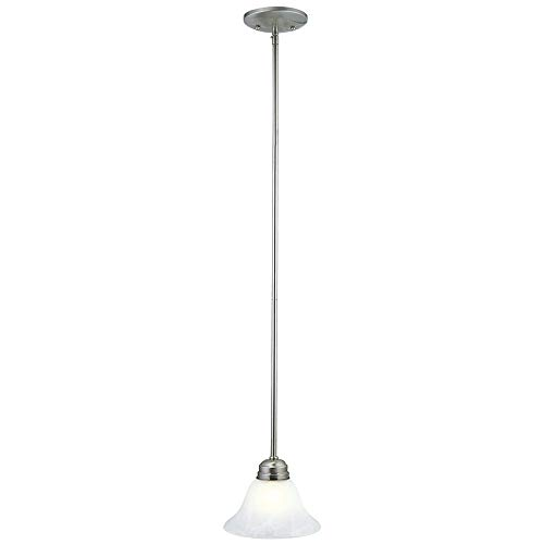 Design House 511634 Millbridge 1 Light Mini Pendant, Satin Nickel