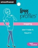 L'eggs Profiles Legging, Light Control, Black, Size ()
