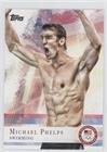 Michael Phelps (Trading Card) 2012 Topps U.S. Olympic Team and Olympic Hopefuls - [Base] #100