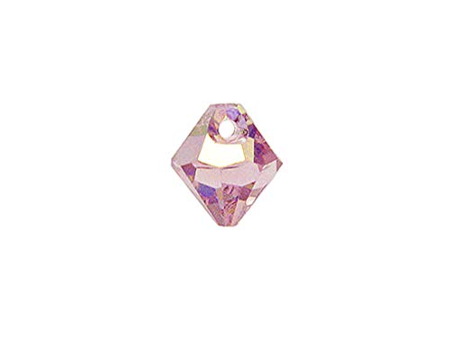 Wholesale Genuine Swarovski 6301 8mm Light Amethyst AB Bicone Beads, Choose Package Size (24) ()