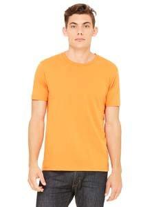 Canvas 3001 Unisex Jersey Short-Sleeve T-Shirt, Burnt Orange, (Burnt Orange Jersey)