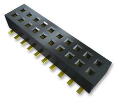 VERTICAL THROUGH-HOLE SAMTEC CLP-102-02-G-D SOCKET 100 pieces 4 POSITION 1.27MM