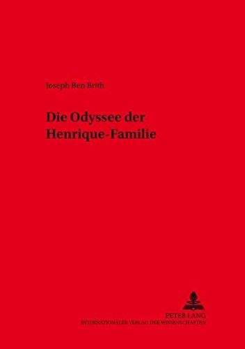 Die Odyssee der Henrique-Familie (Kieler Werkstücke)