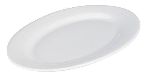 BIA Cordon Bleu 12-Inch Bistro Oval Platter, Set of 2, White ()