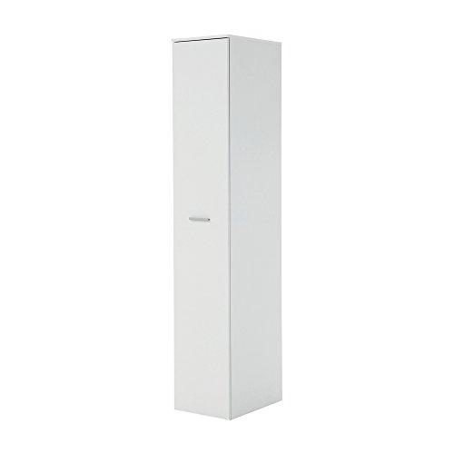 FMD Möbel 929-001 Apothekerschrank Ronda 1, 35 x 190 x 50 cm, weiß