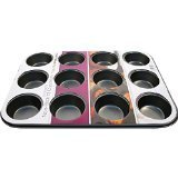 Prima 2X Prima 35 X 26 X 3 Cm 1-Piece Muffin Pan Black Normal